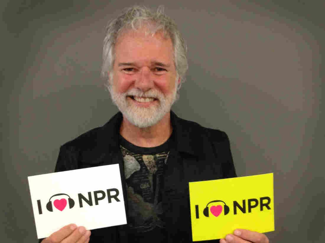 Chuck Leavell at NPR's Washington, D.C., headquarters.