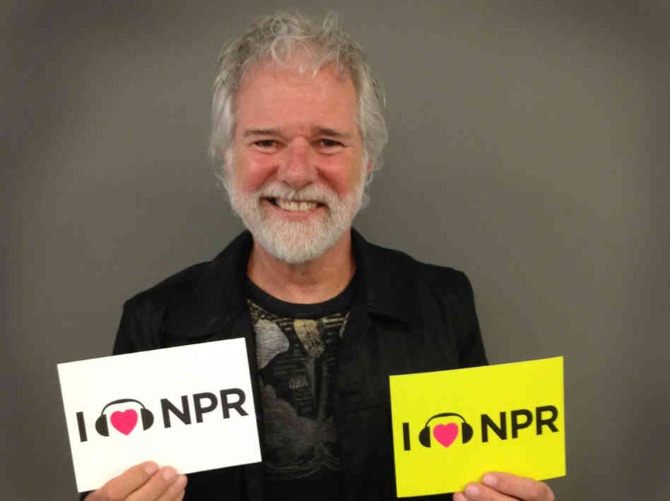 Chuck Leavell at NPR's Washington, D.C., headquarters.
