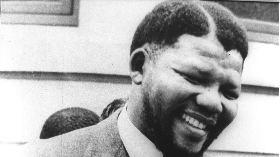 Nelson Mandela, pictured in the early 1960s, before he was sentenced in 1964 to life in prison for sabotage. The government did not release photos of Mandela during his many years in prison, and few people knew what he looked like at the time of his release. (Reuters /Landov)
