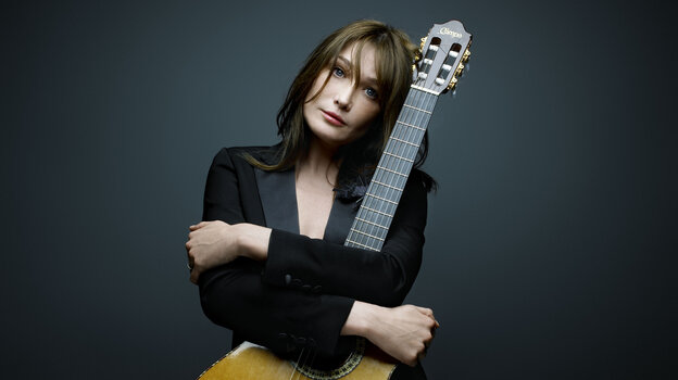 Carla Bruni's new album, her first since her husband, former President Nicolas Sarkozy, left office, is titled Little French Songs.