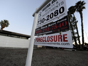 Las Vegas, the recession's foreclosu