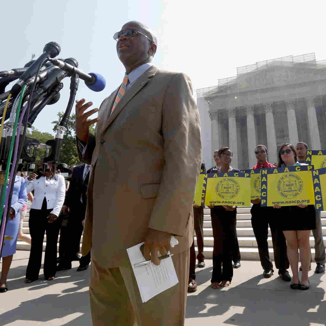 Supreme Court Strikes Down Key Provision Of Voting Rights Law
