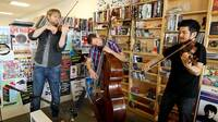 Time For Three performs a Tiny Desk Concert.