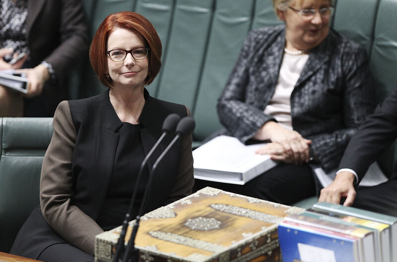 Australian Prime Minister Julia Gillard Ousted By Kevin Rudd The Two Way Npr