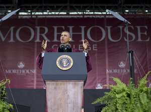 President Obama spoke last month at  commencement ceremonies at Morehouse College in Atlanta, which brought fresh attention — and scrutiny — to historically black colleges.