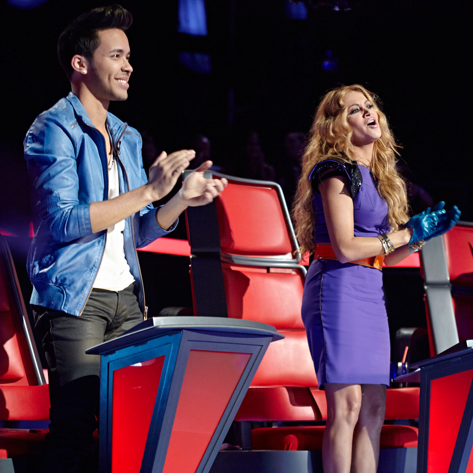 La Voz Kids' coaches include Dominican-American singer-songwriter Prince Royce, Mexican pop star Paulina Rubio and Mexican-American singer Roberto Tapia.