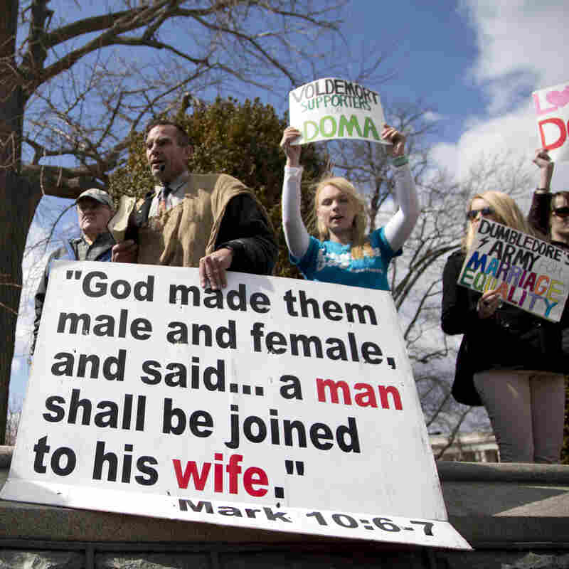 Same-Sex-Marriage Fight Shifts Back To States