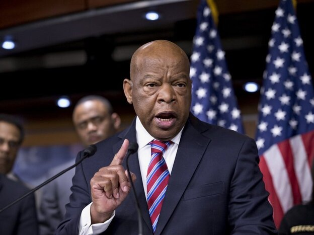Rep. John Lewis, a Georgia Democrat who as a 1960s civil rights activist risked his life for voting rights, expressed disappointment with the Supreme Court VRA decision. (AP)
