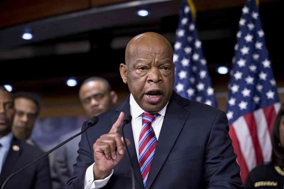 Rep. John Lewis, a Georgia Democrat who as a 1960s civil rights activist risked his life for voting rights, expressed disappointment with the Supreme Court VRA decision.