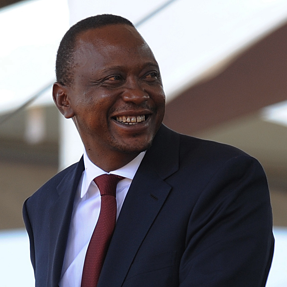 Many Kenyans are upset that President Obama won't be visiting Kenya on his tour of Africa. The Obama administration says it doesn't think it appropriate for the president to visit while Kenya's President Uhuru Kenyatta, shown here in April, faces war crimes charges in the International Criminal Court.
