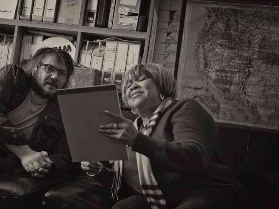 Mavis Staples has been performing for more than six decades. One True Vine is her second album-length collaboration with Wilco frontman Jeff Tweedy.