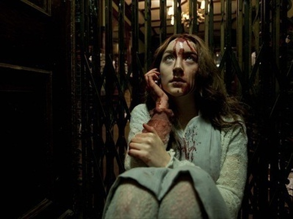 Saoirse Ronan plays Eleanor, an ancient (and uncharacteristically ethical) vampire in Neil Jordan's <em>Byzantium.</em>