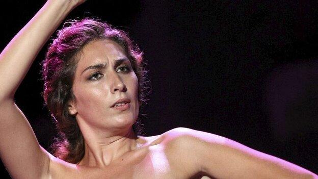 Spanish flamenco singer Estrella Morente.