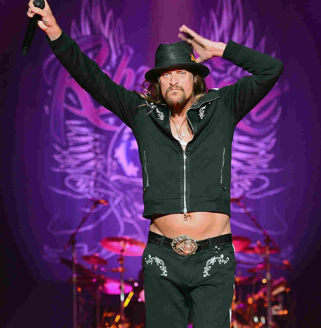 Kid Rock performs in Las Vegas.