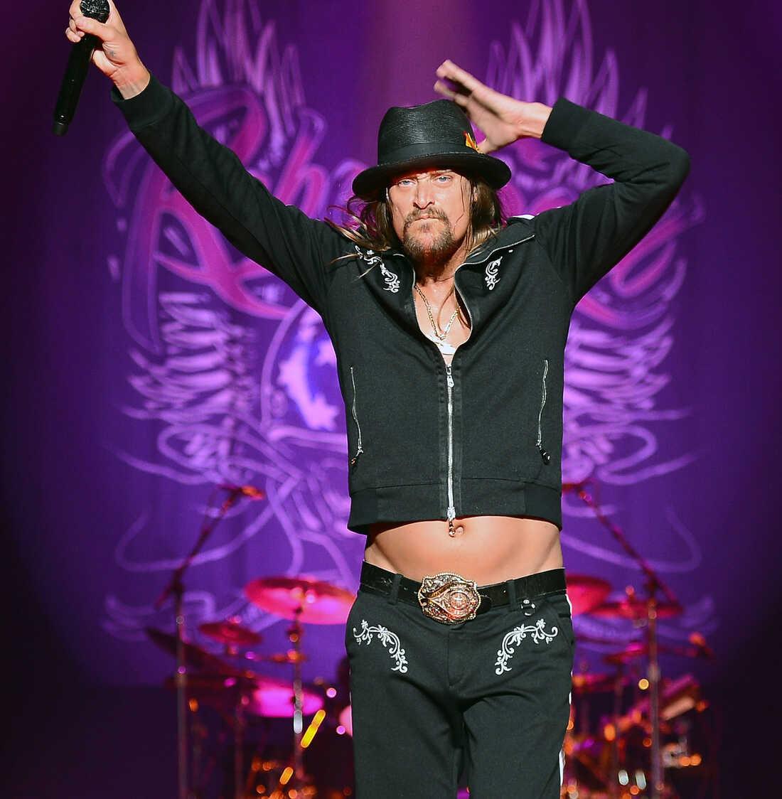Kid Rock performs in Las Vegas.