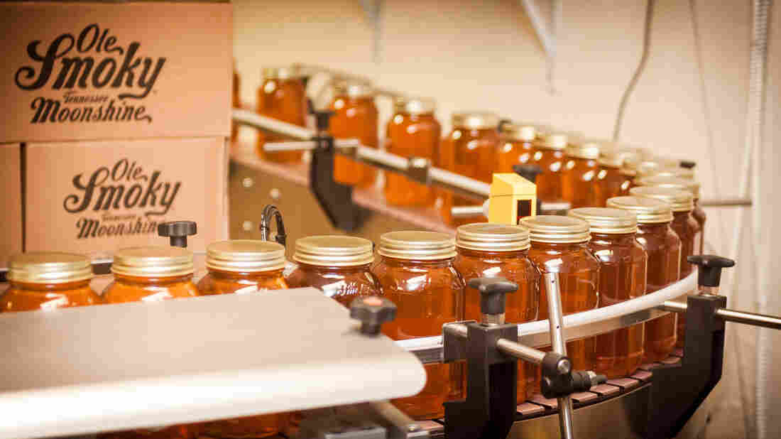 Ole Smoky has helped revitalize the local economy in Gatlinburg, Tenn. The distillery sources its corn, jars and other packaging locally, and employs more than 150 people.