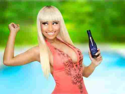 Nicki Minaj is part owner of the coconut moscato brand MYX.
