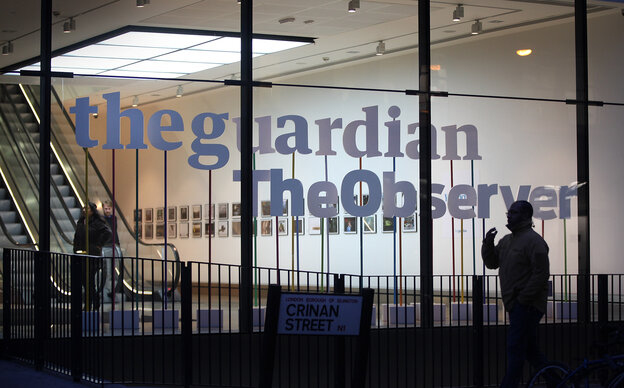 The offices of The Guardian and The Observer in Lo