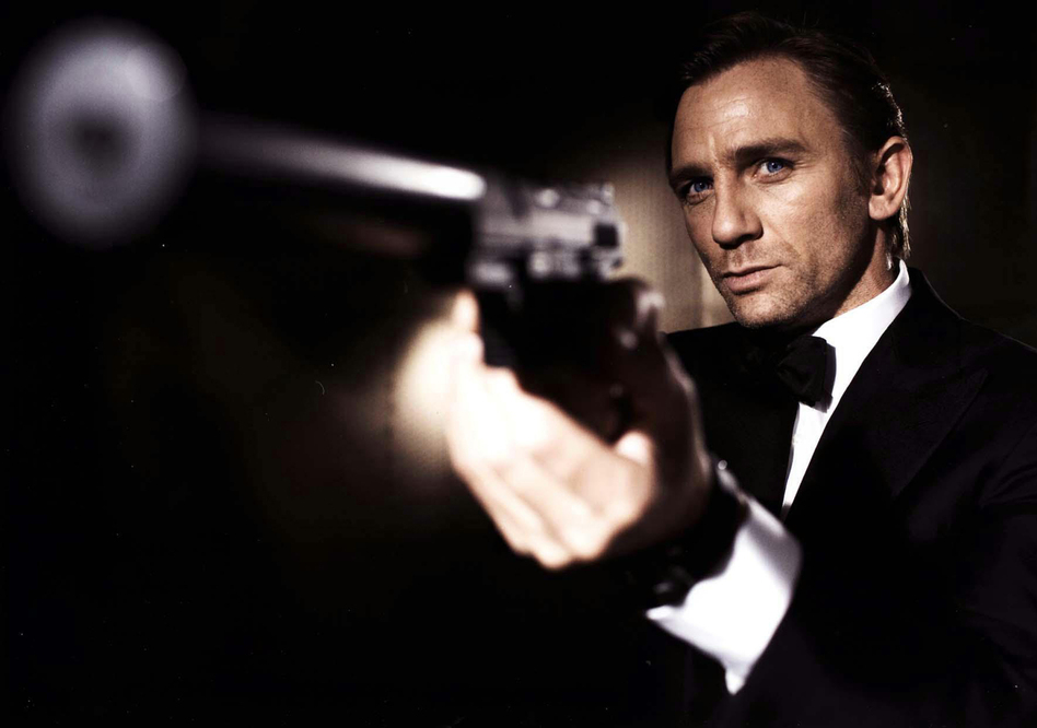Daniel Craig as James Bond in <em>Casino Royale</em>.