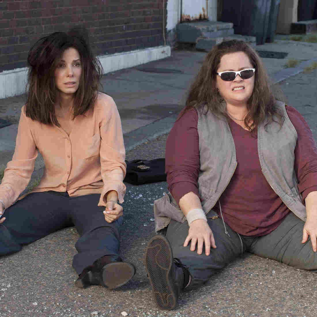 'Heat' Stroke: The genius of this buddy-cop comedy is in its pairing of Sandra Bullock (left, as a by-the-book process nerd of an FBI suit) with Melissa McCarthy, who plays a sloppy Boston detective with no patience for procedure.
