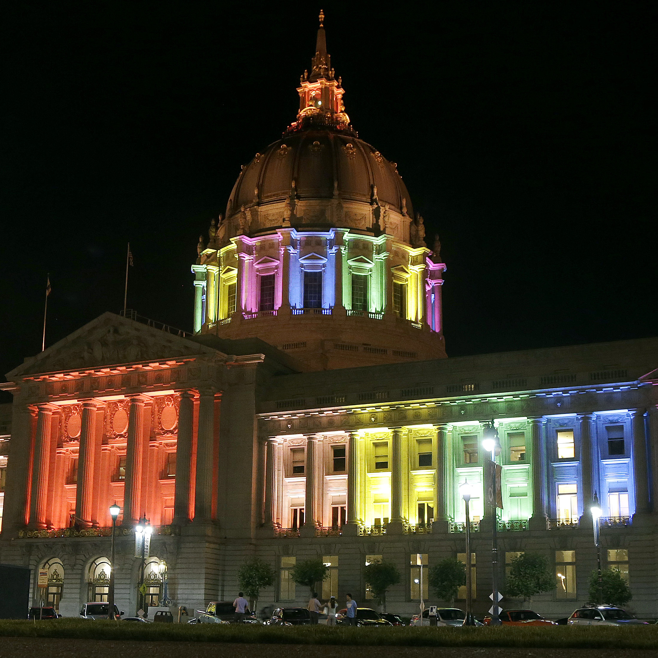 The U.S. 9th Circuit Court of Appeals has lifted a stay that had kept counties from issuing marriage licenses to gay couples. The court is in San Francisco, where City Hall currently sports rainbow-colored lights in honor of Gay Pride weekend.