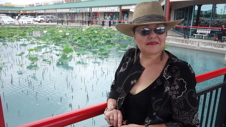 Glenda Joe, a seventh-generation Chinese-Houstonian. (NPR)