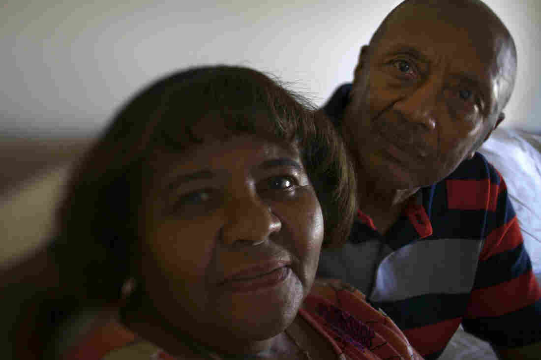 Pansy Greene, 73, is one of 5 million Americans with Alzheimer's disease. She and her husband, Winston, say that their daily lives have changed little despite the diagnosis.