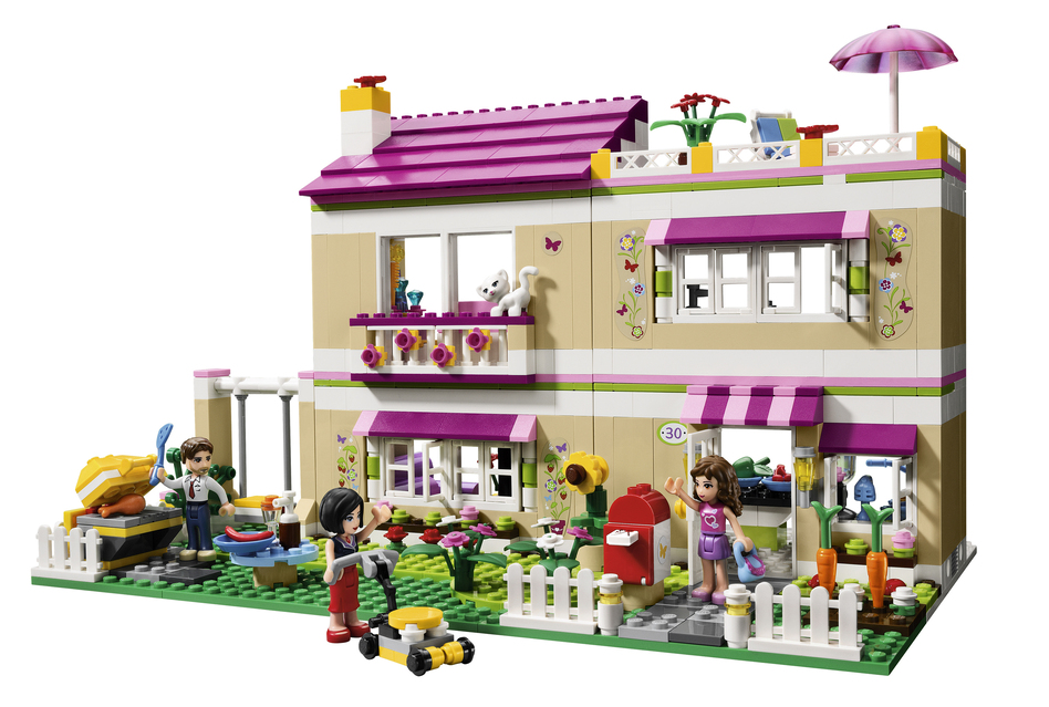 Olivia's House is part of the Lego Friends series. (Lego)