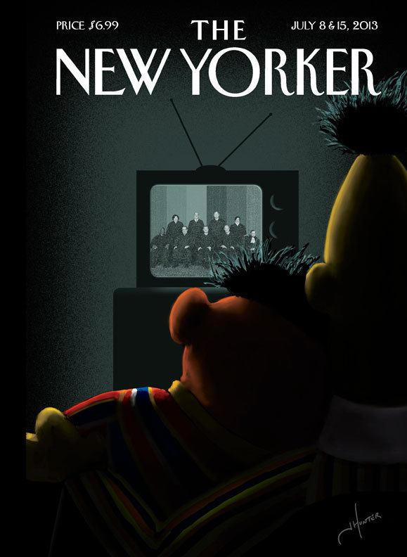 SEE: The 'New Yorker' Cover That Has People Talking