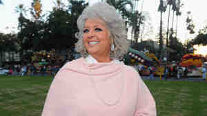 Paula Deen leads the 122nd Annual Tournament of Roses Parade in Pasadena, Calif.