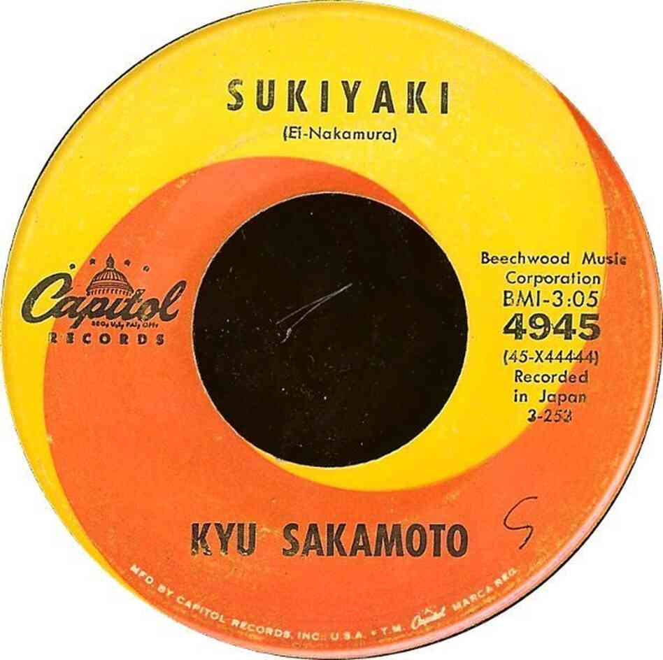 "Underlying the sweetness of Kyu Sakamoto's unexpected hit song ""Sukiyaki"" was a story of sadness and loss."