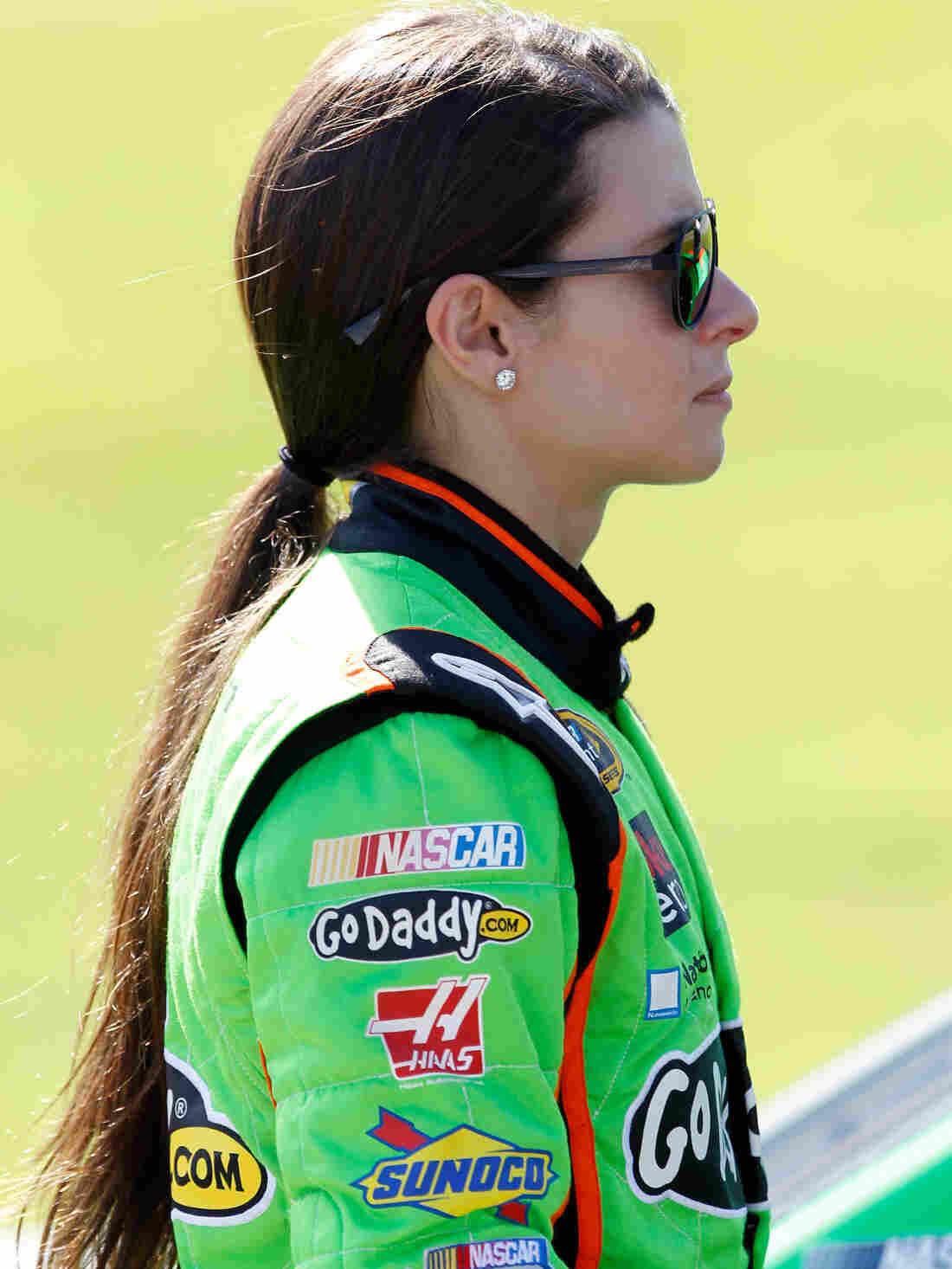 Danica Patrick at Kentucky Speedway on June 28, 2013 in Sparta, Kentucky.