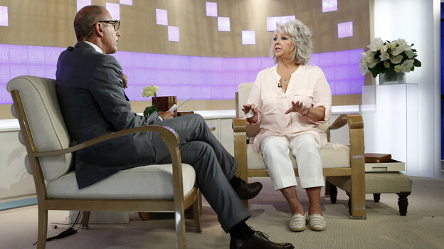 Paula Deen dissolved into tears during her appearance Wednesday on NBC's Today show with Matt Lauer. The celebrity chef told Lauer she was not a racist, but image experts say she'll have to work harder to convince the public.