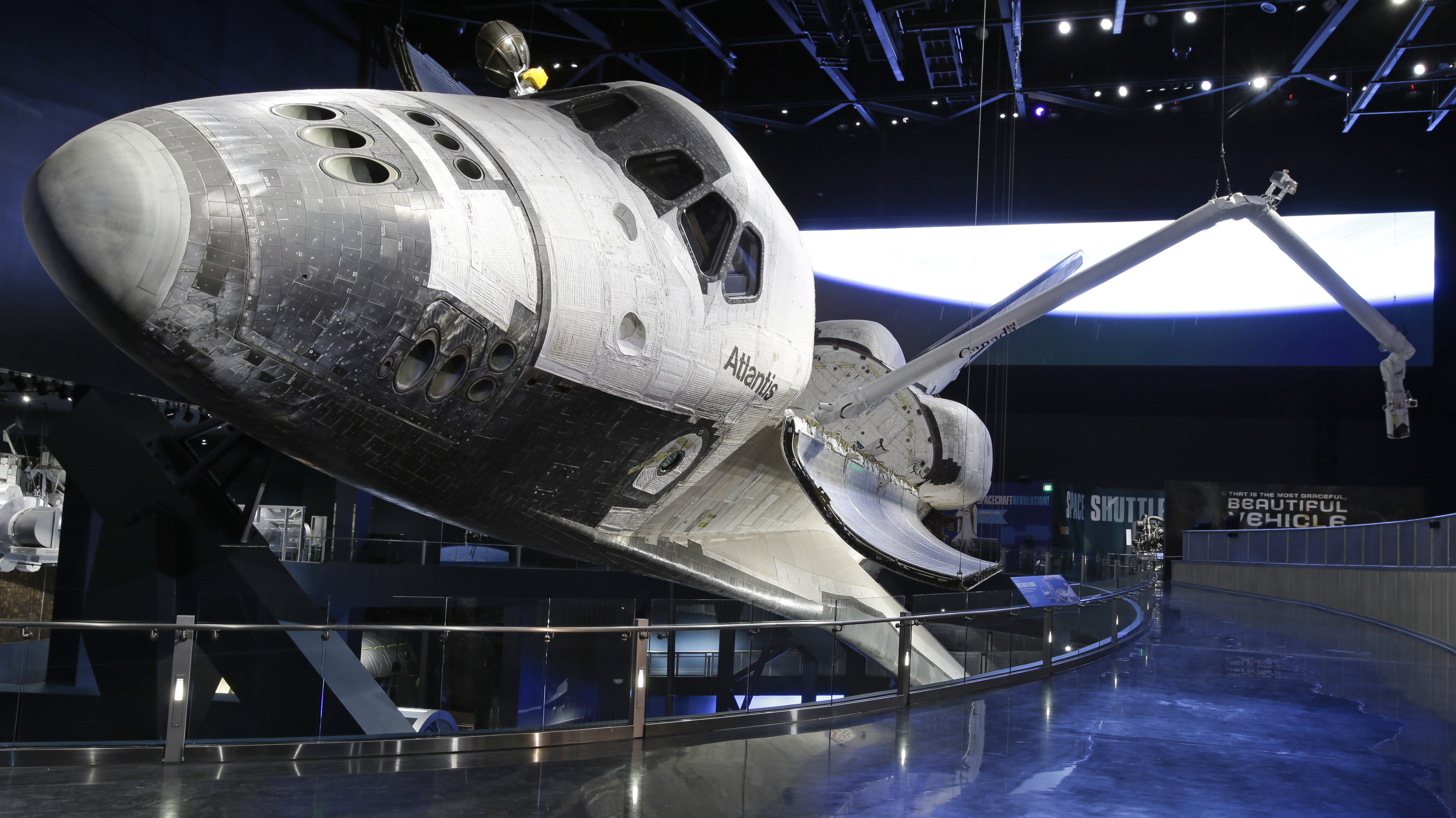 Shuttle Atlantis Lands For Good At Kennedy Space Center : NPR
