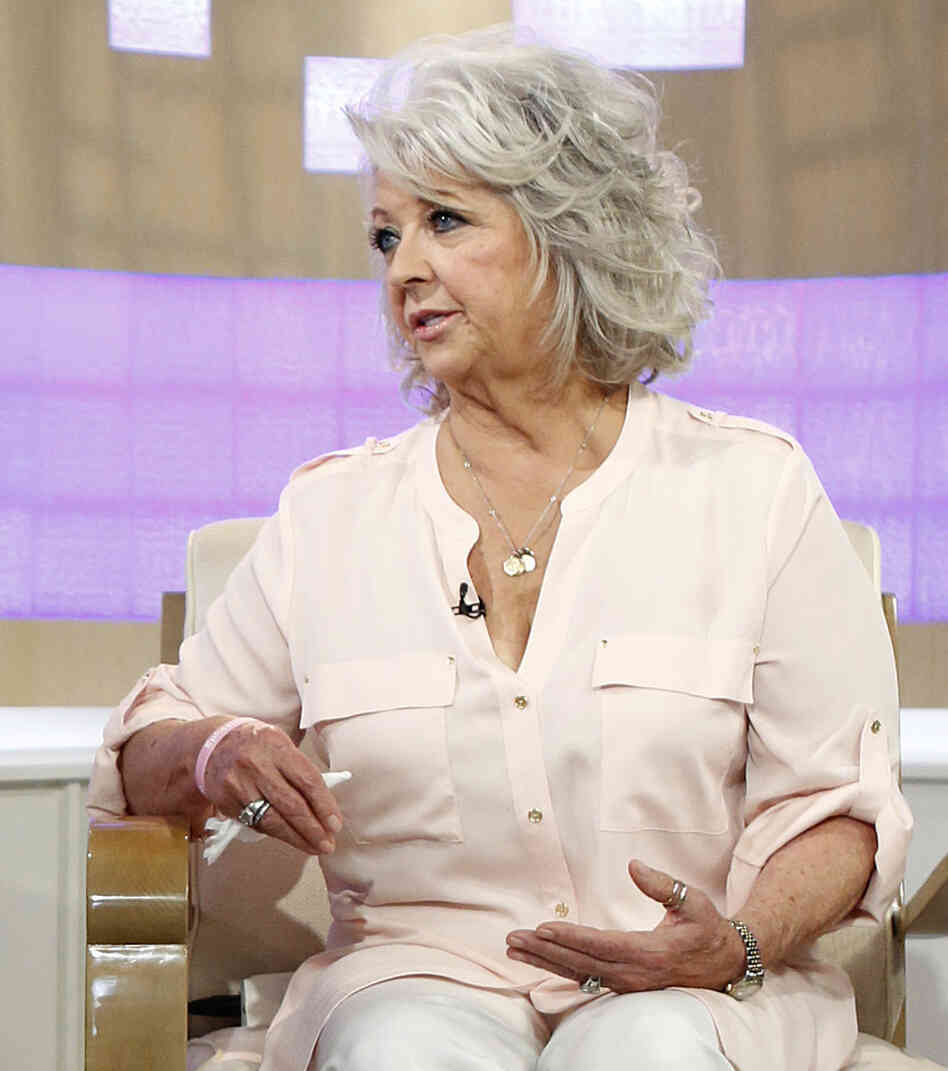 Celebrity cook Paula Deen during an appearance last Wednesday on NBC-TV