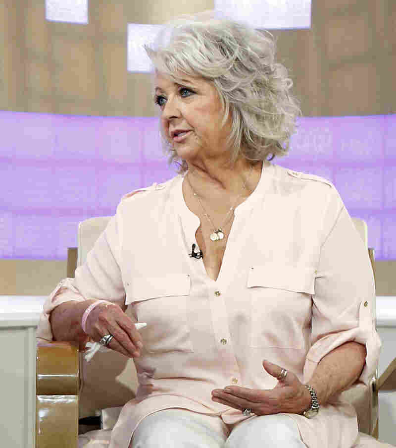 Celebrity cook Paula Deen during an appearance last Wednesday on NBC-TV's The Today Show.