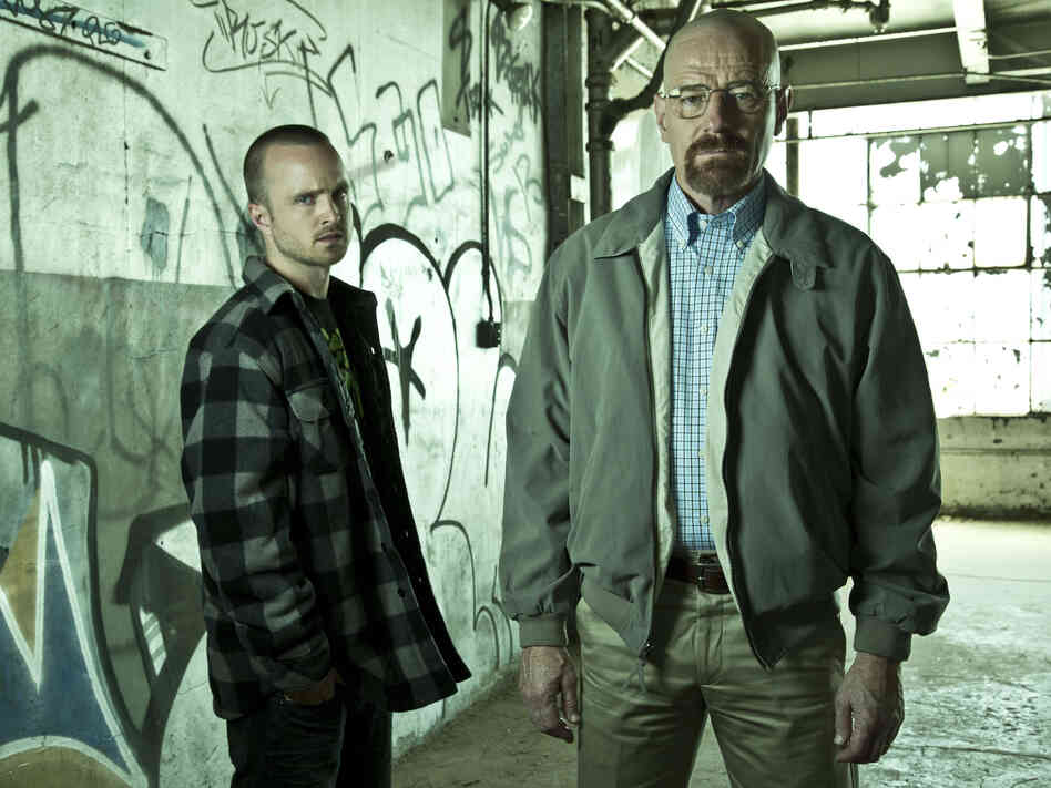 Jesse Pinkman (Aaron Paul) and Walter White (Bryan Cranston) are plenty difficult themselves on AMC's Breaking Bad, one of many cable shows Brett Martin discusses in his book.
