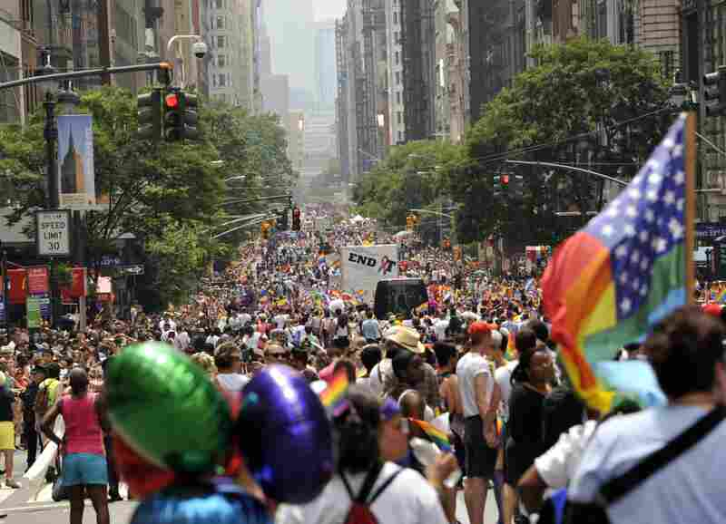 """It is an especially thrilling year to march this year,"" said longtime LGBT activist Cathy Renna. ""I have seen more real progress in the past three years than the nearly two decades of activism before it."""