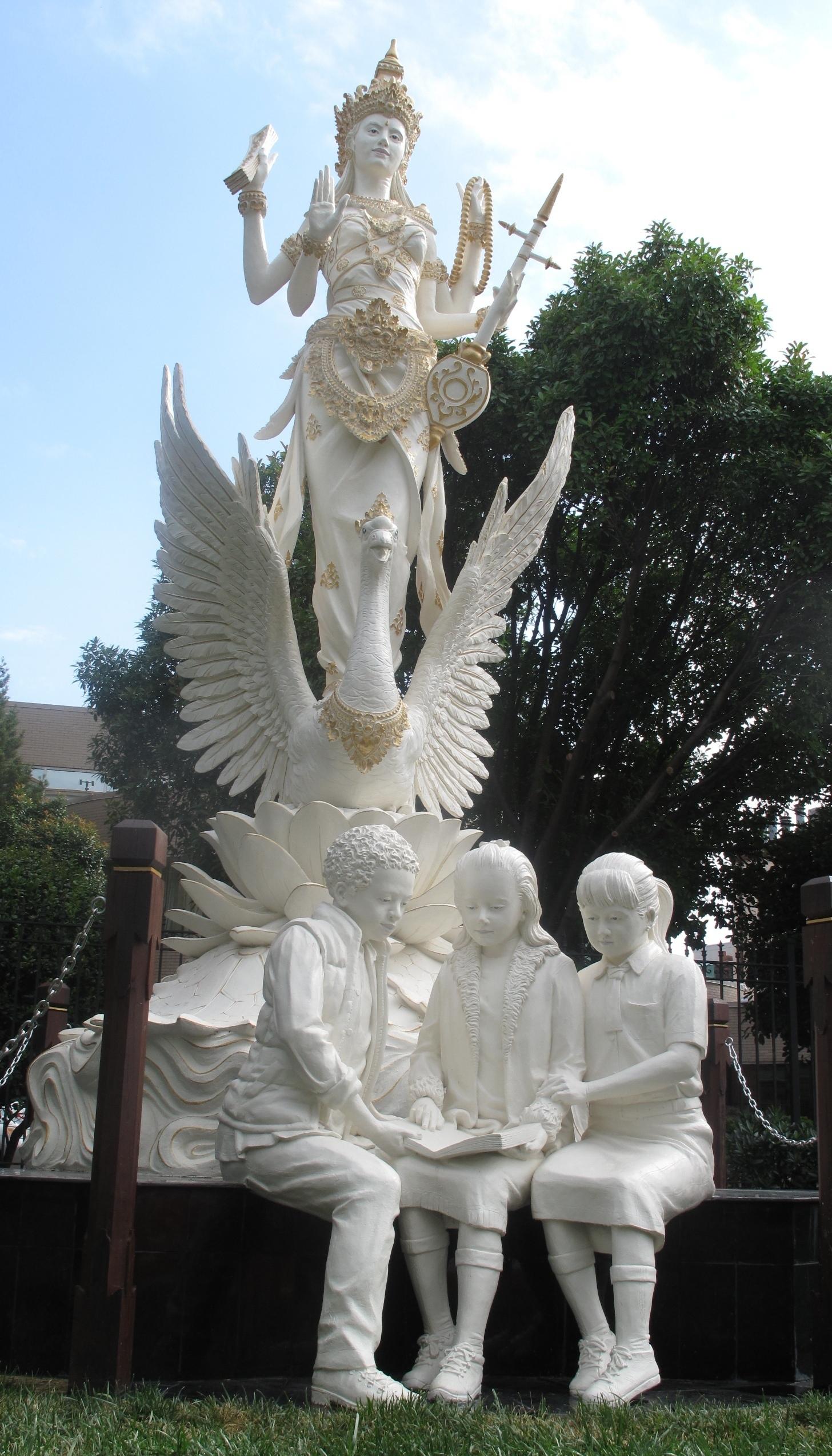 A Hindu Goddess Arrives To Bless Embassy Row