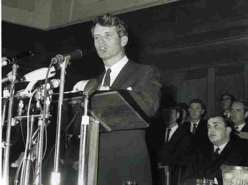 """Many historians consider Kennedy's """"Ripple of Hope"""" speech, which he delivered at the University of Cape Town on June 6, 1966, to be his greatest speech."""