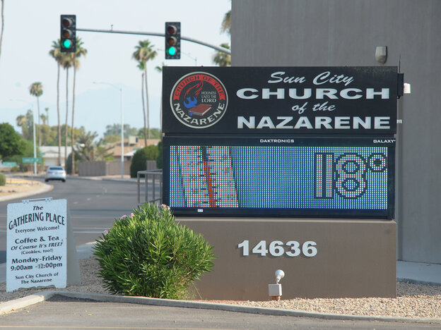 It was hot Saturday in Sun City, Ariz., and across the Southwest.