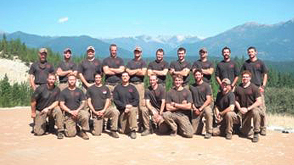 The Granite Mountain Interagency Hotshot Crew is shown in this undated handout photo provided by the city of Prescott, Ariz. The elite team of 19 firemen were killed on Sunday in one of the deadliest U.S. firefighting disasters in decades. (Reuters/Landov)