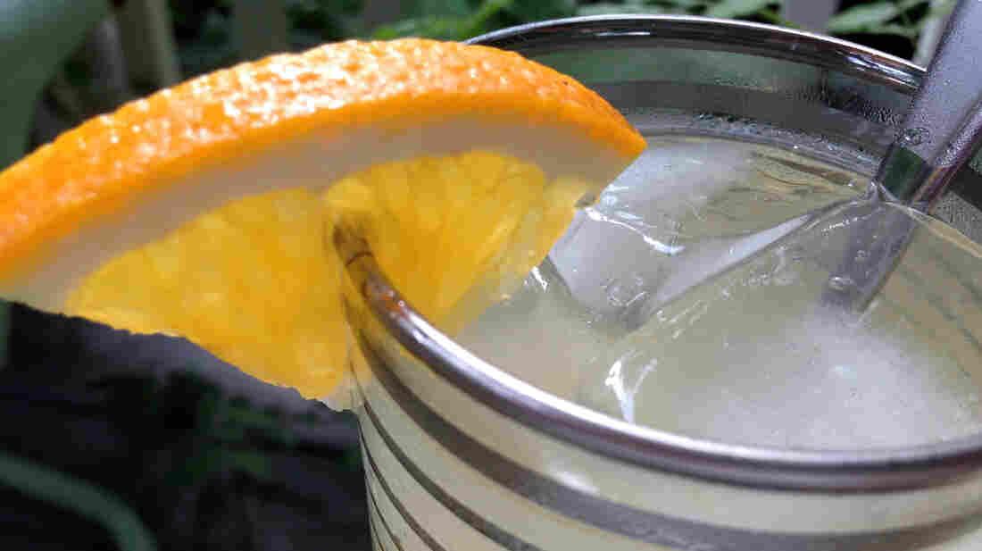 Orange-Honey Ginger Ale (top)