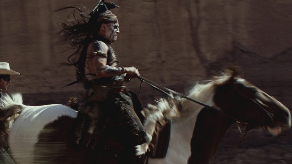 Some critics aren't fans of Disney's Tonto and think that the character is a major setback for the Native American image. (Disney)