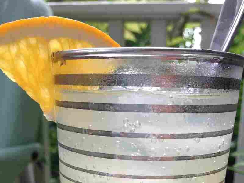 Orange-Honey Ginger Ale