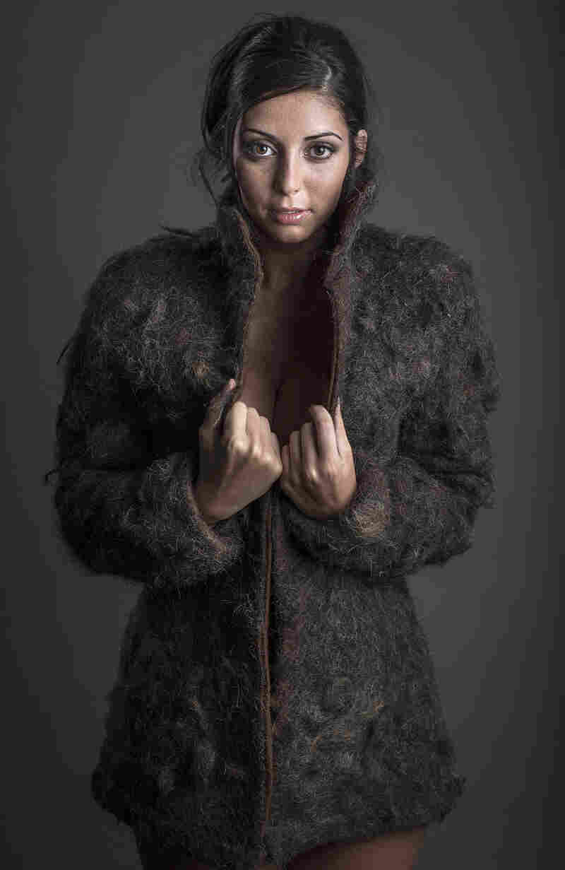 Commissioned by Wing-Co. for an ad campaign, the maker of this coat says it contains over one million strands of male chest hair.