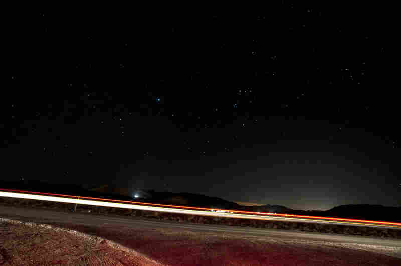 """The end of the """"the loneliest road,"""" Fernley, Nev."""