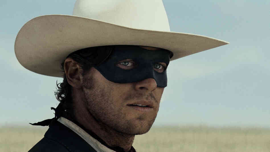 Armie Hammer stars as the Lone Ranger in a new Disney adaptation.