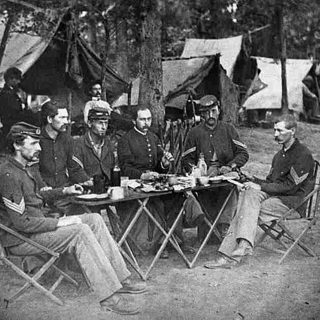Civil War Soldiers Needed Bravery To Face The Foe, And The Food