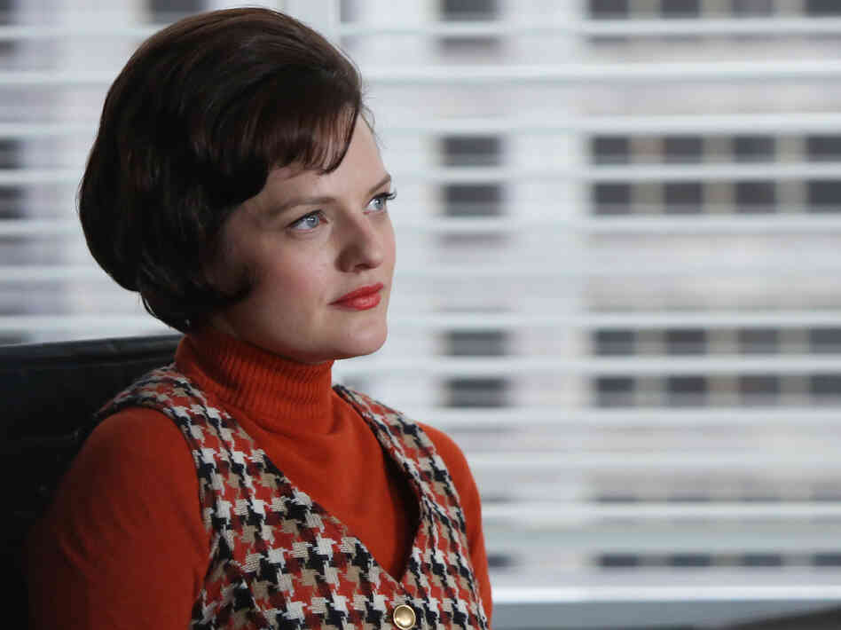 Elisabeth Moss has won widespread acclaim for her portrayal of ambitious copywriter Peggy Olson on AMC's Mad Men.